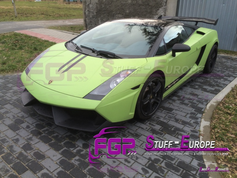 LP570 Bumper for 2004 -2008 Lamborghini Gallardo
